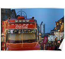 christmas cola ... Poster