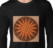 Spiked Pumpkin Spice Long Sleeve T-Shirt