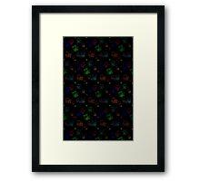 Glowing Kitty Framed Print