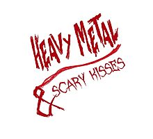 Heavy Metal & Scary Kisses Photographic Print