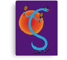 Snake, Rattle and Roll Canvas Print