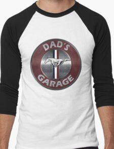 Always Thru Dad's Mustang Garage T-Shirt
