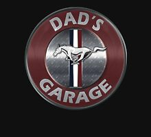 Always Thru Dad's Mustang Garage Unisex T-Shirt