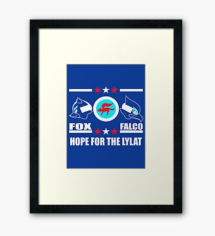 StarFox Zero: Hope for the Lylat Framed Print