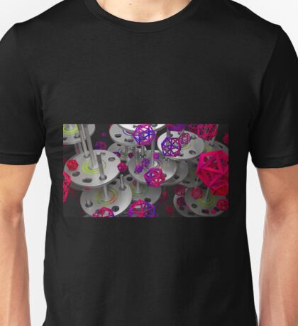 What are those!? - Abstract render Unisex T-Shirt