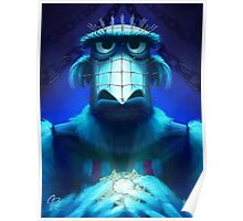 Muppet Maniac - Sam the Eagle as Pinhead Poster