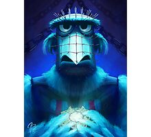 Muppet Maniac - Sam the Eagle as Pinhead Photographic Print