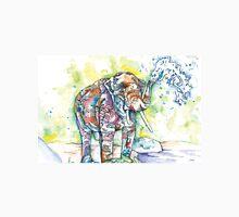 Multi-Color Water Elephant Unisex T-Shirt