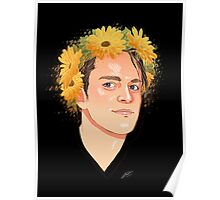 Dallon flower crown  Poster