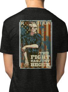 Ron Paul The Fight Has Just Begun Tri-blend T-Shirt