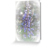 Wild Lupin Greeting Card