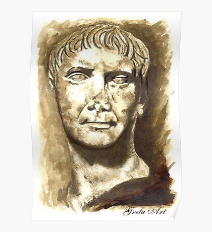 Emperor Trajan, Rome  I-II DC Poster