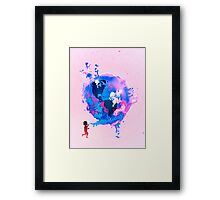 Bubble Earth Framed Print
