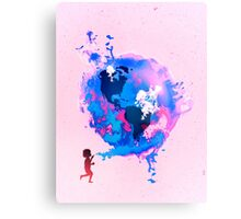 Bubble Earth Metal Print