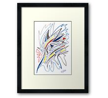 0211 - Master of Hypnosis Framed Print