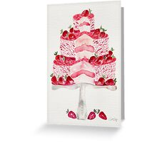 Strawberry Shortcake Greeting Card