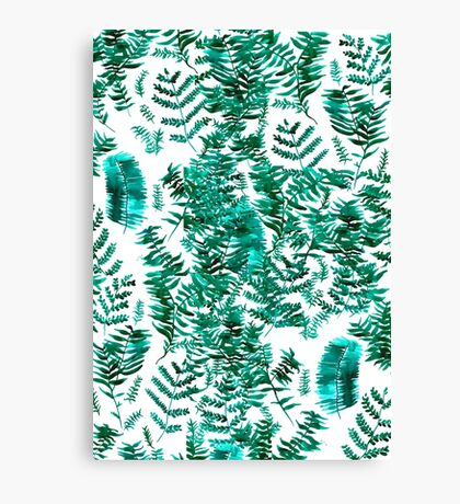 Forest of Ferns Canvas Print