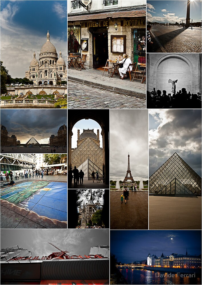 From Paris with Love,Calendar Cover by Davide Ferrari