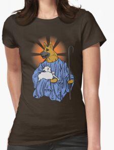 Good Shepherd! Womens Fitted T-Shirt