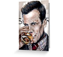 Macallan Specter Greeting Card