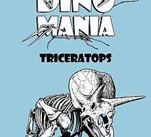 Dino Mania Triceratops by Arseniy Dubakov