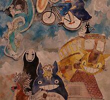 Miyazaki by Maura Hartzman