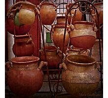 Mexican Clay Pots Photographic Print
