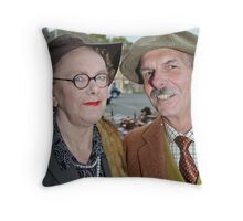 Pickering 40's Weekend (03) Throw Pillow