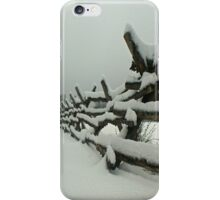 Frosted Split Rail iPhone Case/Skin