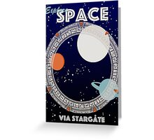 Explore Space Greeting Card