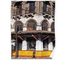 Old fashonied commercial establishment - Vieaja y tradicional casa comercial Poster
