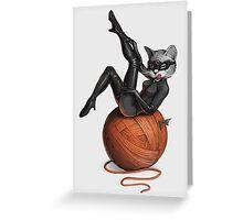 Feline Female Greeting Card