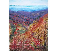 Autumn Valley Photographic Print