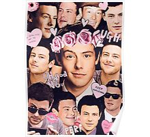 Cory Monteith Collage Poster