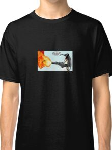 Penguin with a flamethrower... Classic T-Shirt