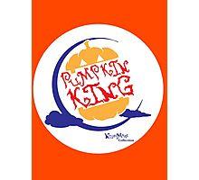 Pumpkin King Photographic Print