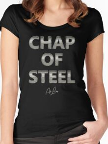 Alan Partridge – Chap of Steel Women's Fitted Scoop T-Shirt