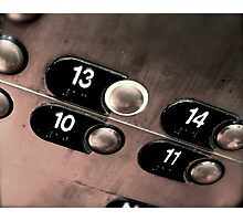 Friday The 13th. Photographic Print