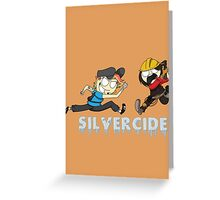 Silvercide And Neek- MLG (With Name) Greeting Card