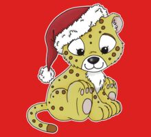 Jabari in a Christmas Hat Kids Tee