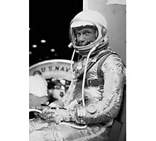 John Glenn Wearing A Space Suit Photographic Print