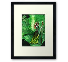Lady of the Forest Framed Print