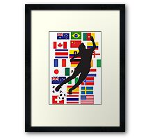 WWC - 24 teams Framed Print
