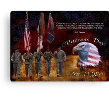 Veterans Day 2011 Canvas Print
