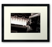 Lost Theater Framed Print
