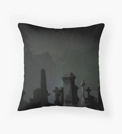 Graves Throw Pillow