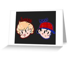 Ness and Lucas! Greeting Card