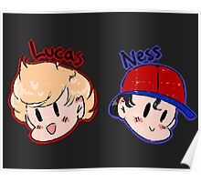Ness and Lucas! Poster