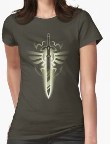 Master Sword solo Womens Fitted T-Shirt