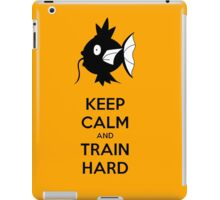 Keep Calm and Train Hard iPad Case/Skin